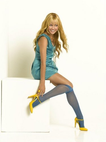 Hannah Montana wallpaper possibly with bare legs, hosiery, and tights titled hm 4ever