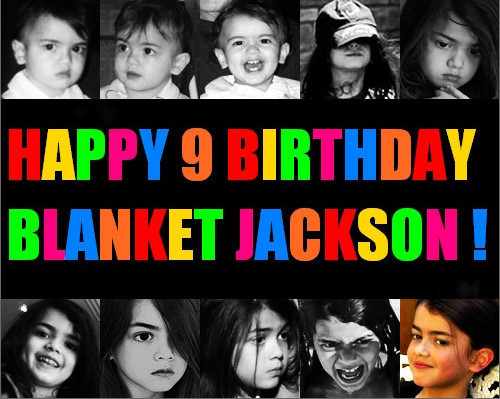 Happy Birthday Blanket - blanket-jackson fan art