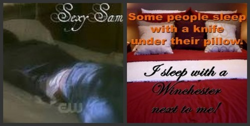 i sleep with Sam