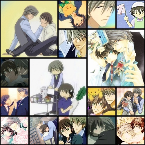 junjou romantica collage