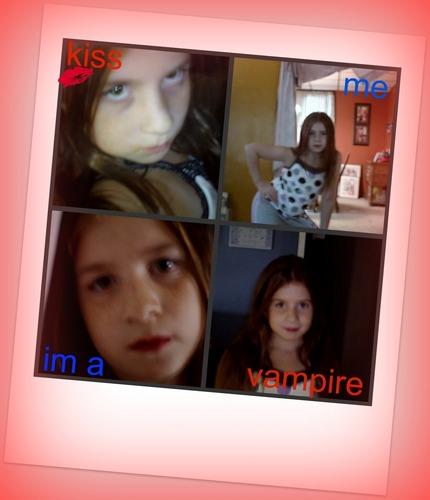 kiss the vampire