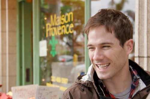 Luke Macfarlane پیپر وال probably containing a سٹریٹ, گلی and a green beret کے, باریٹ called luke macfarlane