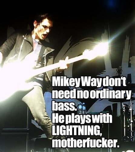 mikey way dont need a new 低音 because....