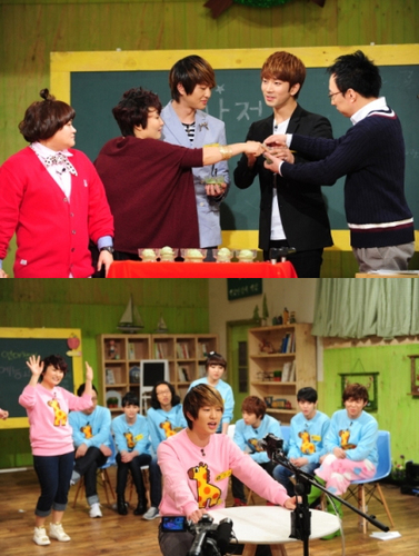 onew @ oh! my school ^^
