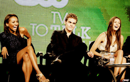 paul, kat and nina