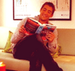 pretending to read ;) - jonathan-togo icon