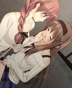 sara and kaede (yuri)