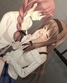 sara and  kaede (yuri) - animated-girls photo