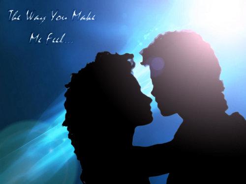 the way 你 make me feel <3