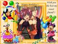 ~~~***~Happy Birthday my dear and sweet friend!~***~~~ - gravitation fan art