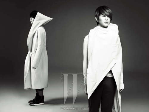 [Official Photo] Onew and Minho for W Magazine January 2011 Issue