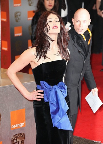 Gemma Arterton 바탕화면 possibly with a 칵테일 dress titled 2011 BAFTA Awards