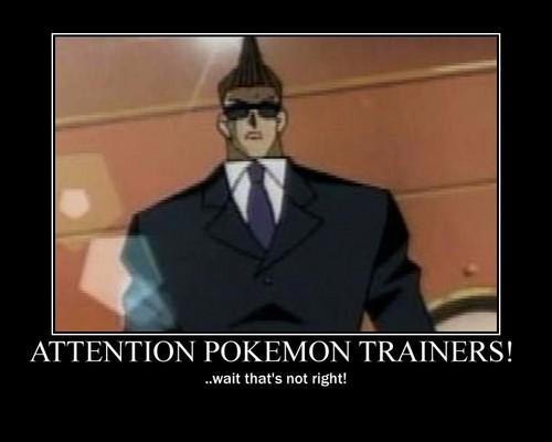ATTENTION Pokemon Trainers Motivator!