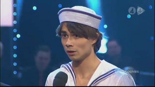 Alex in Let's dance!