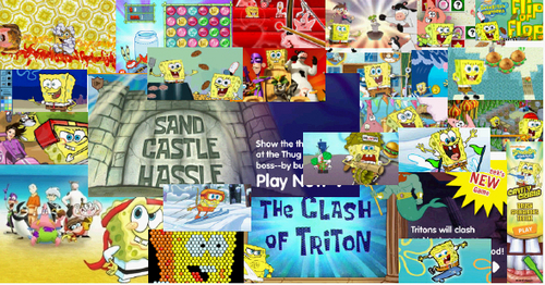 All The SpongeBob Games