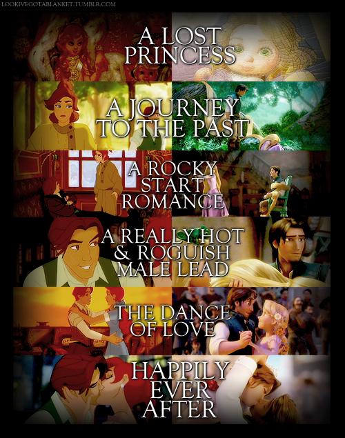 Anastasia VS Tangled - Flynn and Rapunzel Photo (19663441 ...