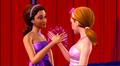 barbie-movies - Barbie A Fairy Secret: Lorinna's look on all that stuff: Fairy cheers screencap