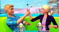 barbie-movies - Barbie A Fairy Secret: Lorinna's look on all that stuff: Spoon fighting! screencap
