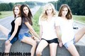 Beautiful Nina & TVD stars