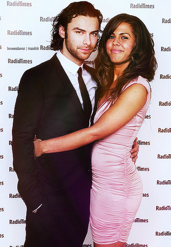 Being Human (Aiden Turner + Lenora Crichlow) Love Them 2gether In Real Life 2 100% Real :) x
