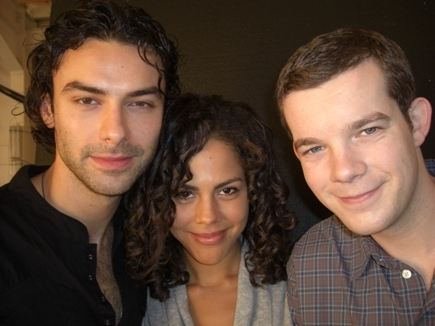 Being Human (Aiden Turner, Lenora Crichlow + Russel Tovey) 100% Real :) x