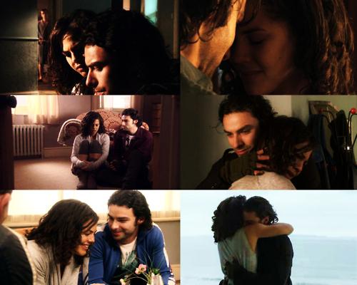 Being Human (Annie + Mitchell) প্রণয় Them 2gether (VampGhost = True Love) 100% Real :) x