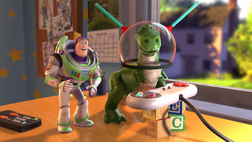 Buzz and Rex