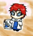 Chibi Gaara - gaara-of-suna fan art
