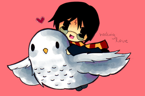 चीबी Harry and Hedwig