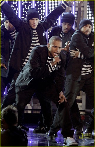Chris Brown @ films Rock 2007