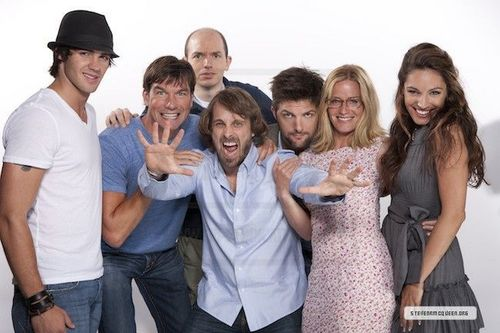 Comic Con Portraits Outtakes! With the cast of Piranha 3d