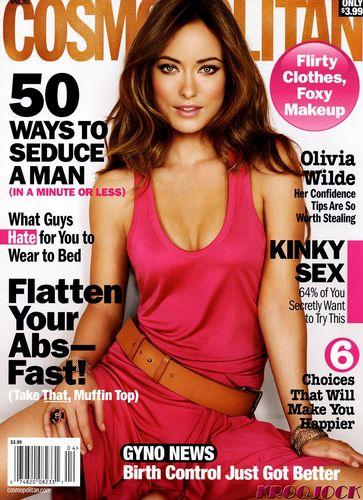 Cosmopolitan April 2011