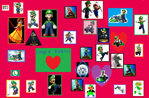 Crazy Luigi fan here!!!! - luigi Fan Art
