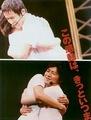 Ono Daisuke and Sugita Tomokazu hug