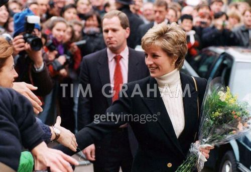 Diana At Centrepoint Charity Project