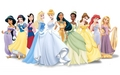 Disney Princess Lineup - walt-disney-characters wallpaper