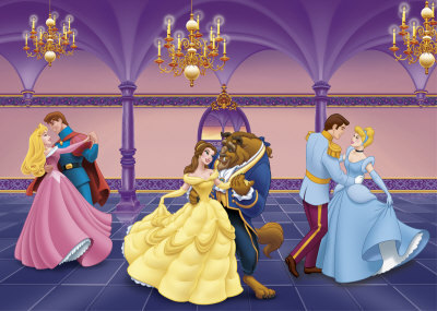 Classic Disney wallpaper containing a bridesmaid called At The Ball