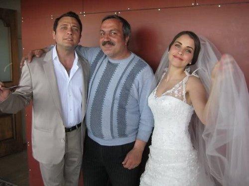 Dudaktan Kalbe Behind Scenes Lamia and Cemil wedding