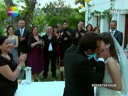 Dudaktan Kalbe Lamia and Cemil wedding - dudaktan-kalbe Screencap