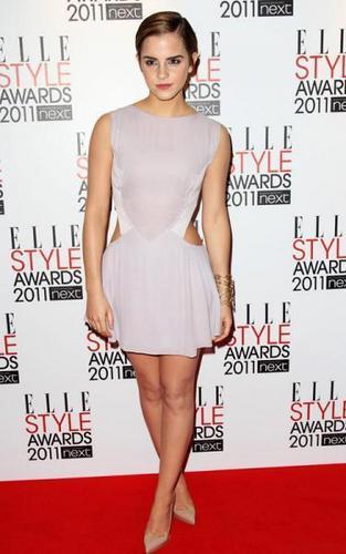 Emma Watson @ Elle Style Awards 2011 in লন্ডন