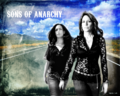 Gemma & Tara - sons-of-anarchy wallpaper