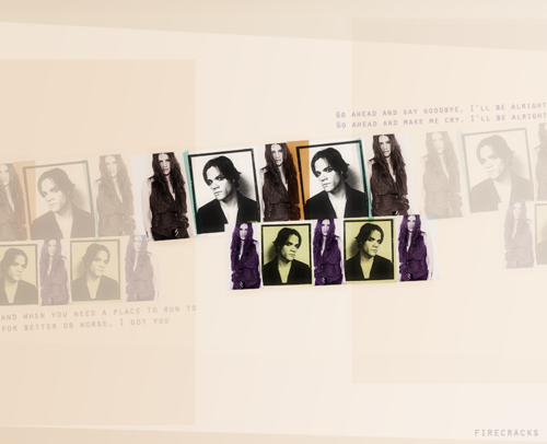 Jared Padalecki & Genevieve Cortese wallpaper possibly with anime entitled Genevieve And Jared