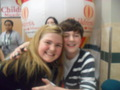 Greyson chance and I 2/19/11 in Edmond Oklahoma!