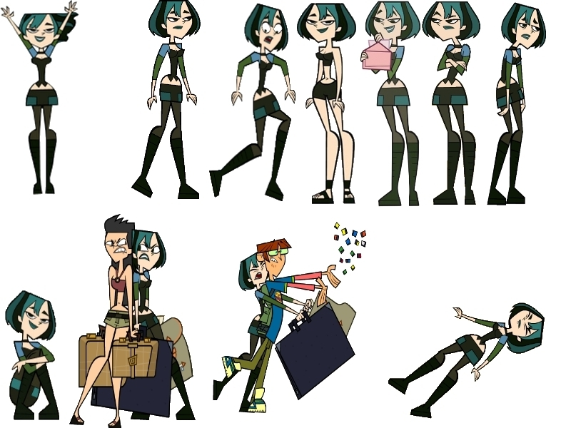 Total Drama Island Images Gwen S Moves Hd Wallpaper And