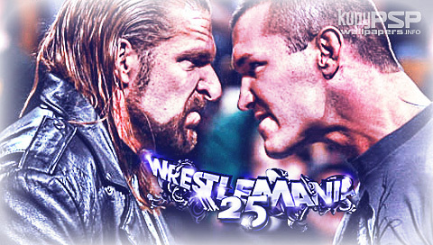 HHH and randy orton