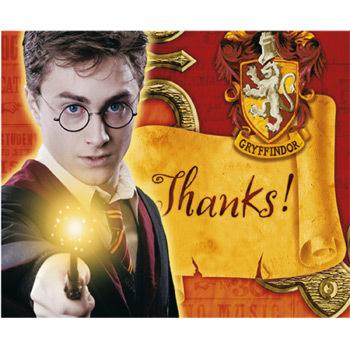 Harry Potter thanks