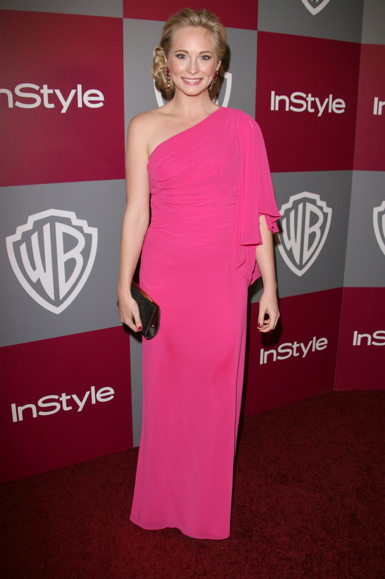 Instyle/Warner Brother Golden Globe Party - candice-accola photo