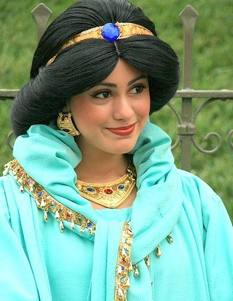 disney princesses disneyland. Jasmine at Disneyland