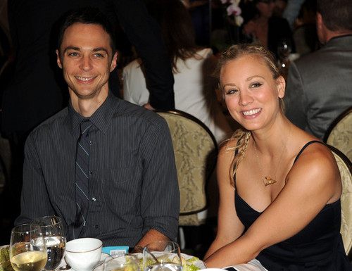 Jim &amp; Kaley - jim-parsons-and-kaley-cuoco Photo