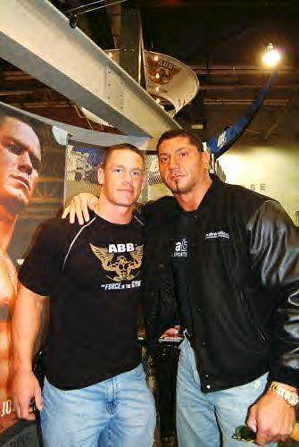 John Cena and Batisa